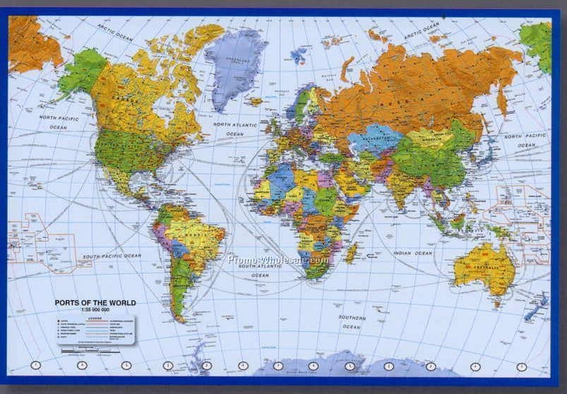 Ports of the World Quiz More Than Shipping – Map World Quizzes
