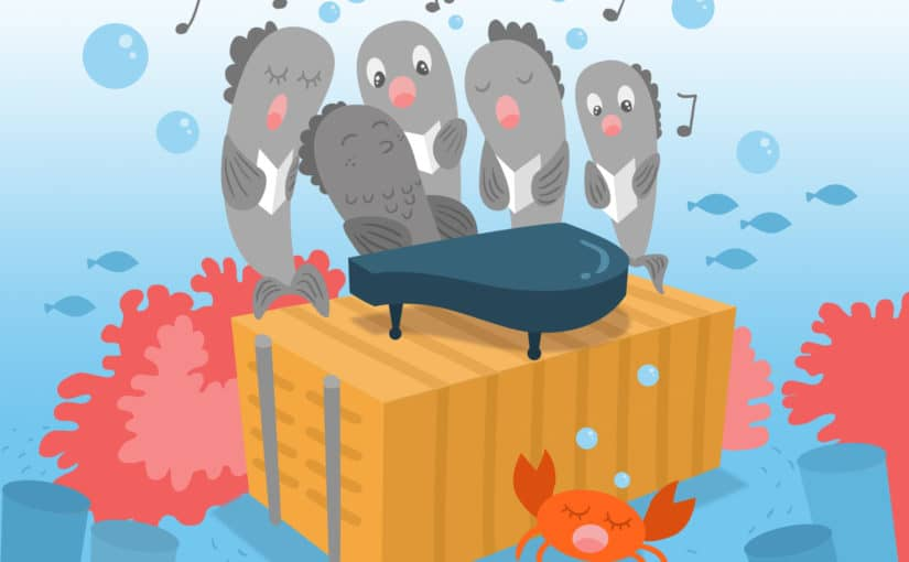 Why do all fish sing off key?
