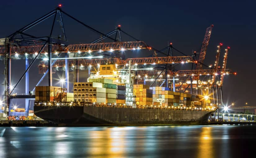 AUTOMATED CONTAINER TERMINAL
