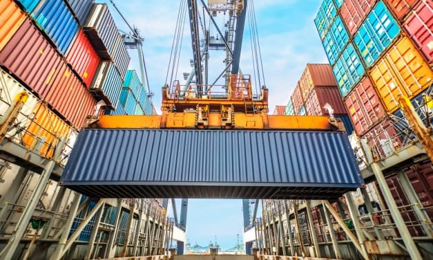 How Containers are Loaded on a Full Container Ship