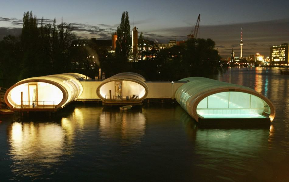 Berlin Pool Made Out Of Recycled Containers More Than