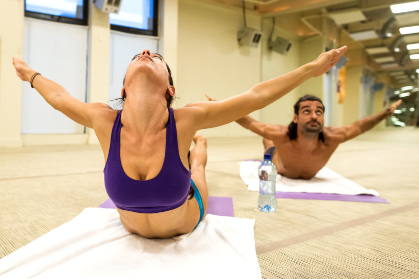 Challenge Yourself with Bikram Yoga