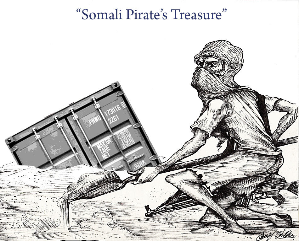 Somali Pirate's Treasure