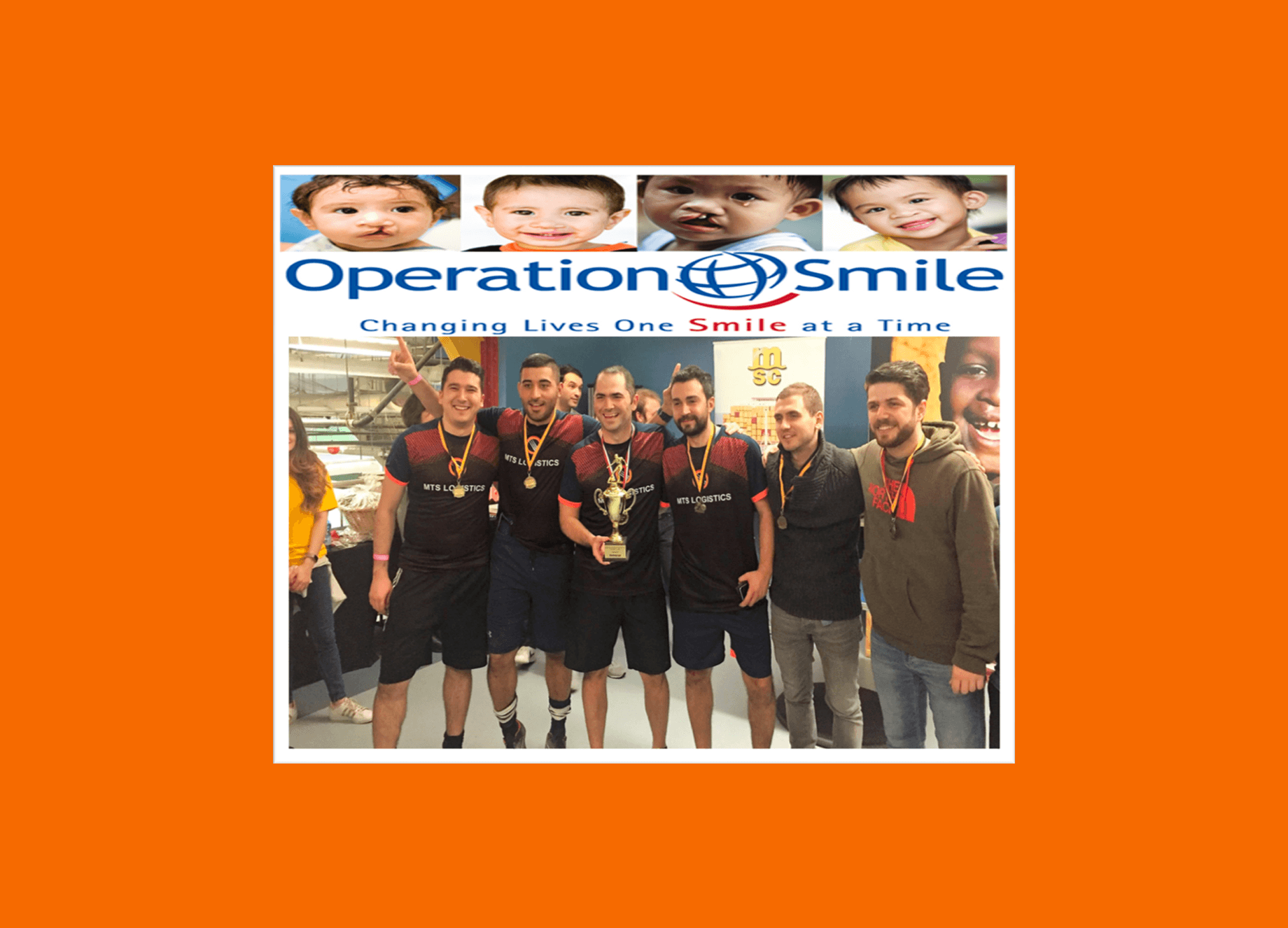 MTS Logistics Supports Operation Smile with a Tournament Win