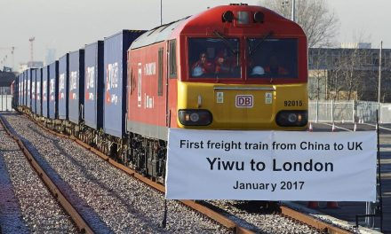 The New Silk Road's First Freight Train From U.K To China