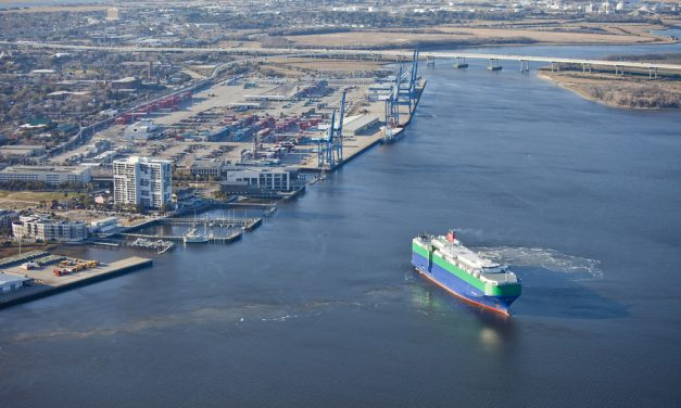 Port of Charleston Plan to Use Barges from Terminals to Railway