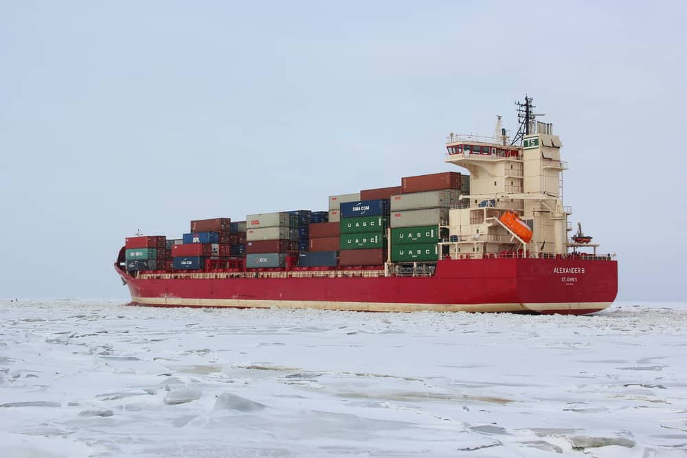 Maersk Launches Container Ship on Arctic Shipping Route