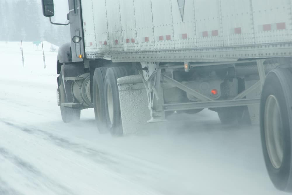 Winter Weather Causing Shipping Delays in the Midwest