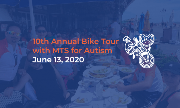 Announcement: Bike with Us in the 10th Annual Bike Tour with MTS for Autism, June 13, 2020