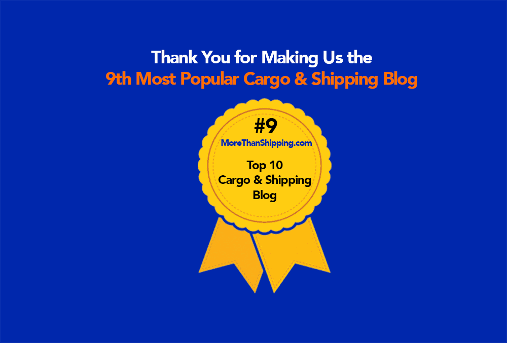 MoreThanShipping.com Named the World's 9th Most Popular Shipping Blog