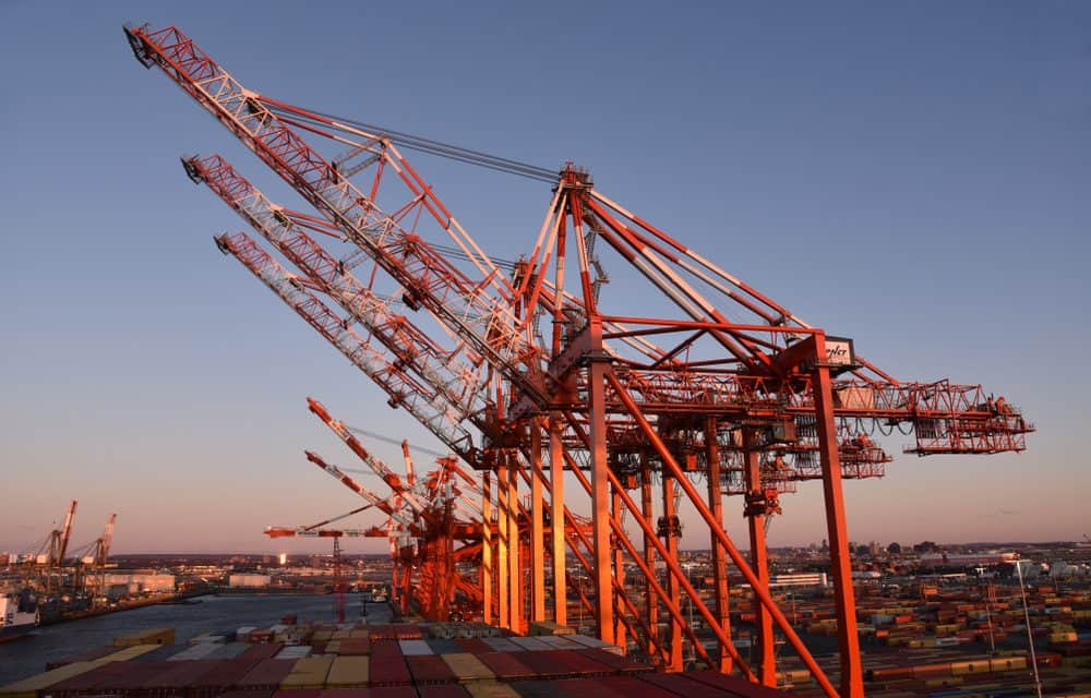 Port Newark Container Terminal $500 Million Upgrade Complete, Significantly Boosting Capacity