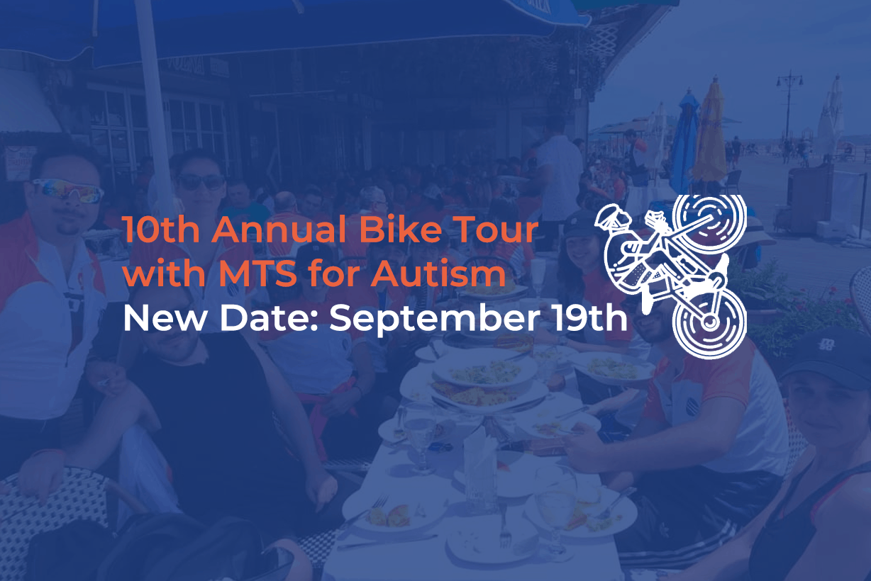 10th Annual Bike Tour with MTS for Autism Postponed to September 19th