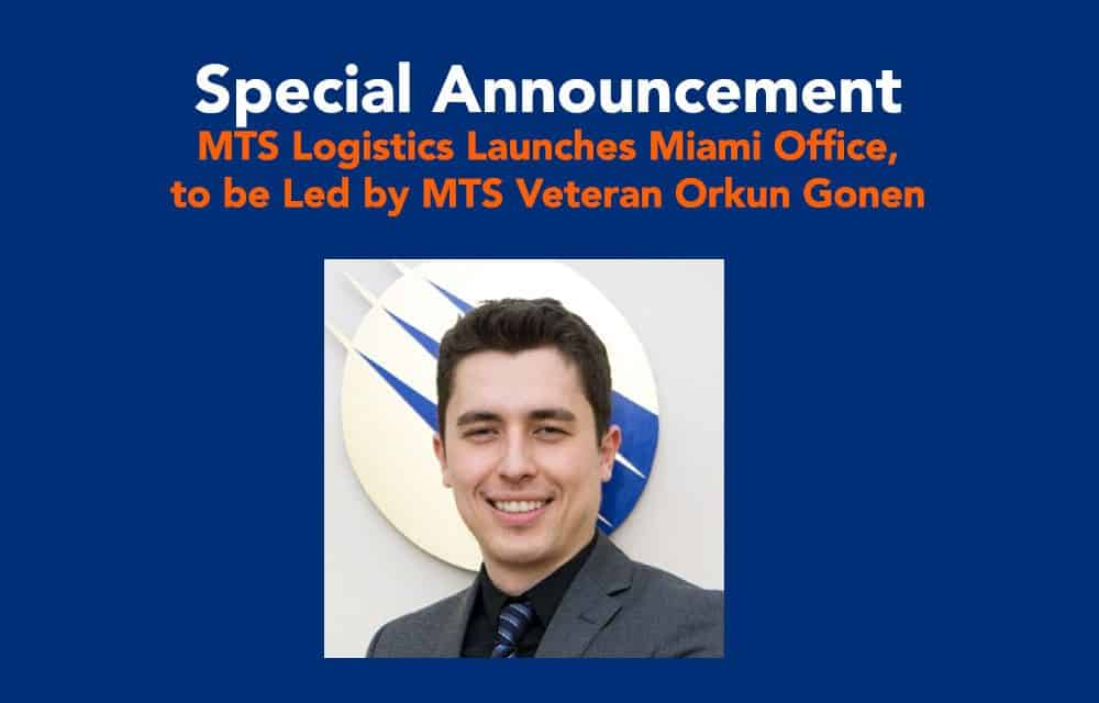 MTS Logistics Launches Miami, Florida Office, Further Positioning Itself as a Global Shipping Leader